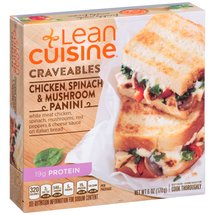 Lean Cuisine Casual Eating Panini Chicken Spinach & Mushroom