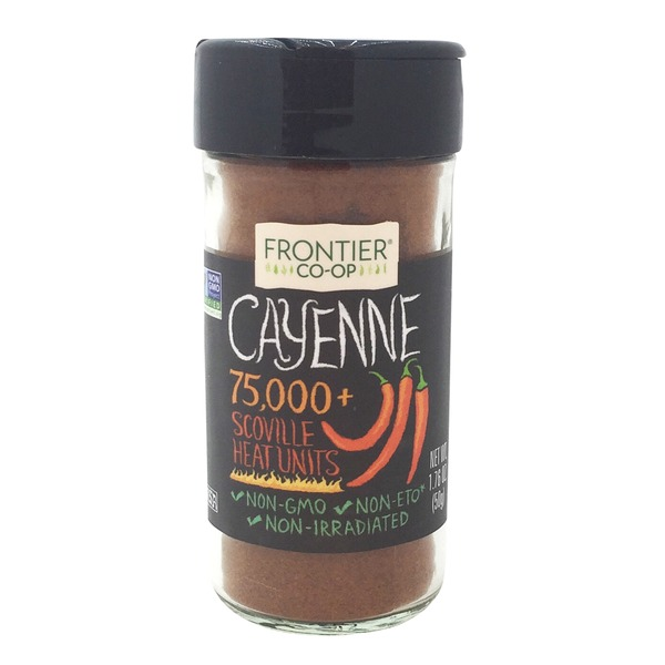 Frontier Natural Products Co-op Frontier Red Pepper (Cayenne) Ground (90,000 HU)