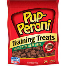 Pup-Peroni Training Treats Made with Real Beef Dog Snacks