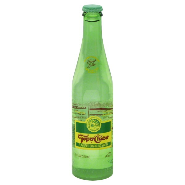 Topo Chico Lime Flavored Flavored Sparkling Water