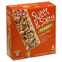 H-E-B Sweet And Salty Peanut Granola Bars