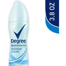 Degree Motionsense Dry Spray Shower Clean Antiperspirant