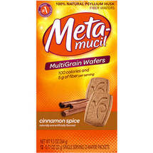Metamucil Wafers Cinnamon