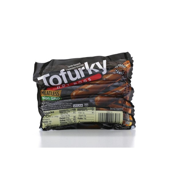 Tofurky Meatless Vegan Hot Dogs