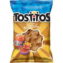 Tostitos Multigrain Scoops! Tortilla Chips