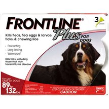 Frontline Plus Flea and Tick Control for Extra Large Dogs 89 to 132 lbs.