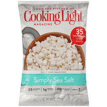 Cooking Light Simply Sea Salt Popcorn
