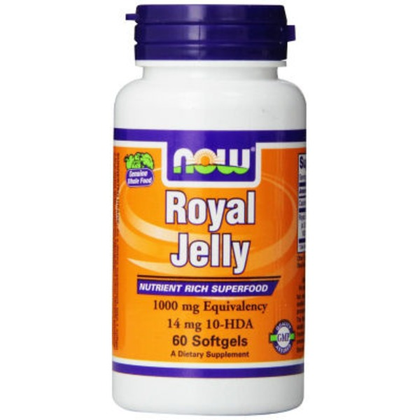 Now Royal Jelly 1000 mg Softgels