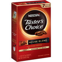 Nescafe Taster's Choice Regular Instant Coffee Packets