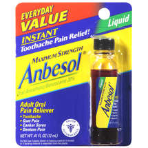 Anbesol Maximum Strength Oral Anesthetic Liquid