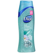 Dial Skin Therapy Exfoliating Body Wash with Himalayan Salt Exfoliating Beads
