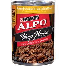 Alpo Chop House Roasted Chicken Dog Food