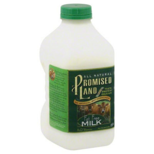 Promised Land Dairy Fat Free Milk
