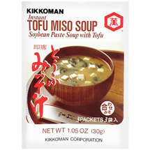 Kikkoman Soybean Paste With Tofu Instant Soup