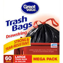 Great Value Large Trash Bags