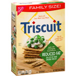 Nabisco Triscuit Crackers Baked Whole Grain Wheat Reduced Fat