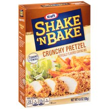 Kraft Shake 'n Bake Crunchy Pretzel Coating Mix