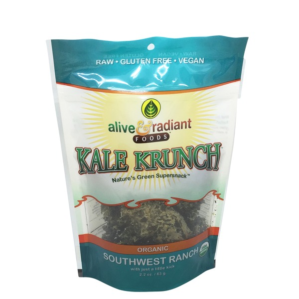 Alive & Radiant Kale Krunch, Organic, Southwest Ranch