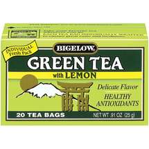 Bigelow Green Tea With Lemon Tea Bags