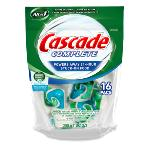 Cascade Complete Pacs Fresh Scent Dishwasher Detergent