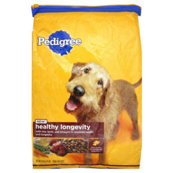 Pedigree Healthy Longevity Targeted Nutrition with Chicken Flavor Dog Food
