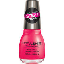 SinfulColors SinfulShine Step 1 Color Nail Color All the Rage