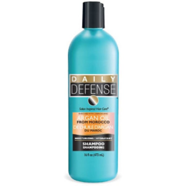 Daily Defense Shampoo Enriched With Aragan Oil From Morocco