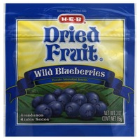 H-E-B Dried Wild Blueberries