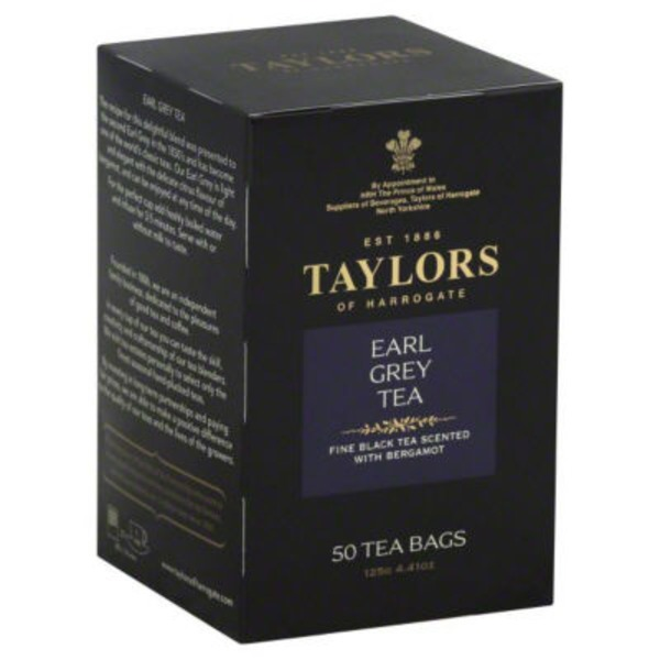 Taylors of Harrogate Earl Grey Black Tea