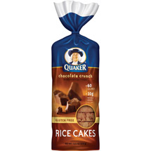 Quaker Rice Cakes Chocolate Crunch