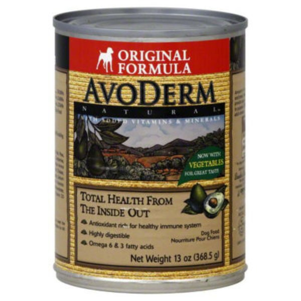 AvoDerm Original Adult Formula Dog Food