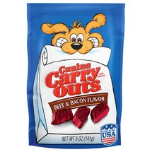Canine Carry Outs Beef and Bacon Flavor Dog Snacks