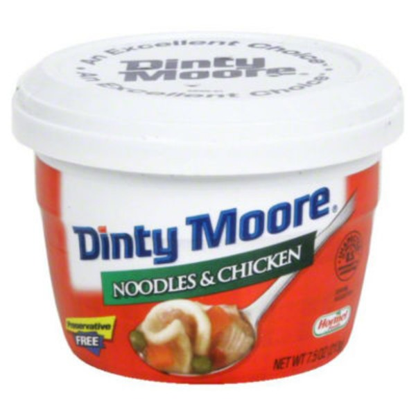 Dinty Moore Noodles & Chicken Microwave Cup