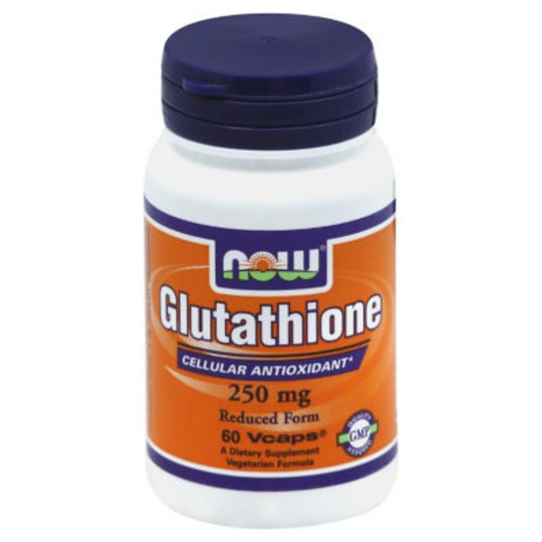 Now Glutathione, Reduced Form 250 mg