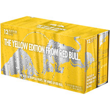 Red Bull Yellow Edition Tropical Fruit Energy Drink