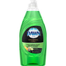 Dawn Ultra Hand Renewal Cucumber & Melon Scent Dishwashing Liquid