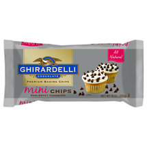 Ghirardelli Semi Sweet Mini Chocolate Baking Chips