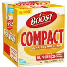 Boost Compact Complete Nutrition Very Vanilla Complete Nutritional Drink