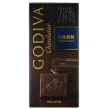 Godiva Chocolatier Dark Chocolate 72% Caco Bar