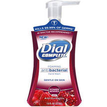 Dial Complete Cranberry Antibacterial With Antioxidants Foaming Hand Wash