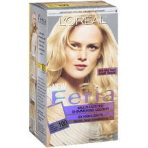 L'Oreal Feria Multi-Faceted Shimmering Colour Very Light Natural Blonde 100 Hair Color