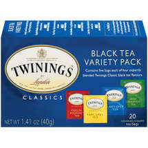 Twinings Of London Black Tea Bags Variety Pack
