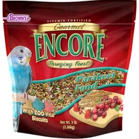 Brown's Encore Gourmet Foraging Feast Parakeet Food