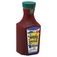 Simply Beverages with Blueberry Lemonade