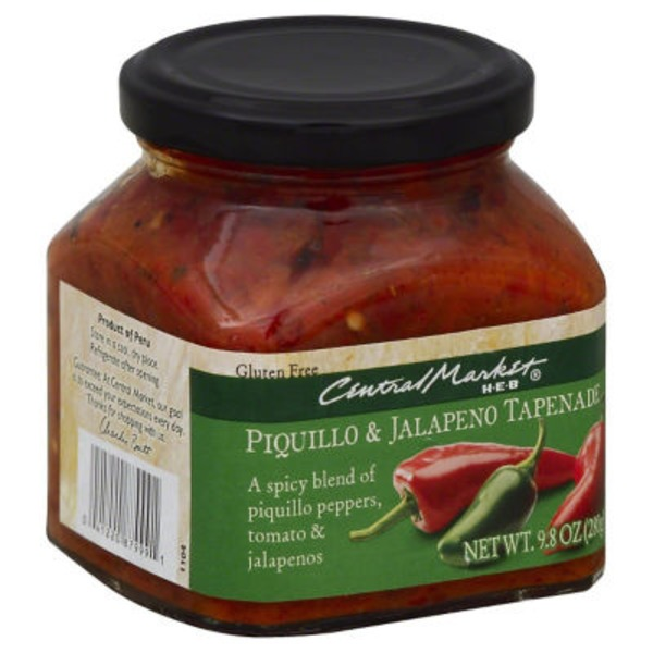 Central Market Piquillo Pepper & Jalapeño Tapenade