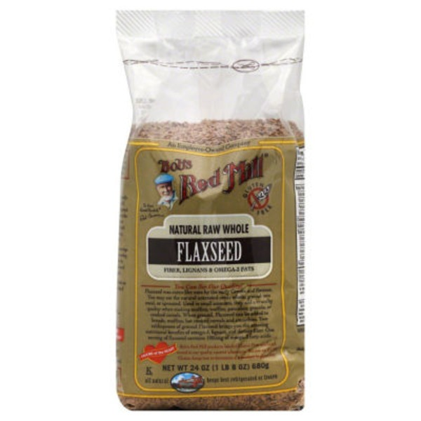 Bob's Red Mill Natural Raw Whole Flaxseed