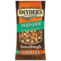 Snyders Of Hanover Sourdough Fat Free The Pounder Nibblers