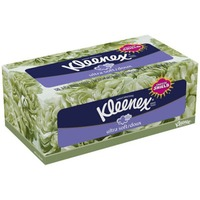 Kleenex Ultra Soft Facial 3-Ply White Facial Tissues