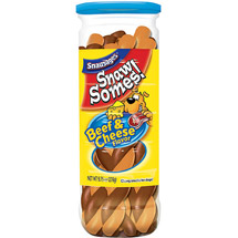 Snausages Snawsomes Beef & Cheese Dog Snacks