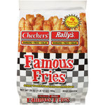 Checkers & Rally's Famous Fries Potatoes Crispy French Fried & Seasoned